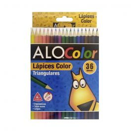 LAPICES 36 COLORES TRIANGULAR