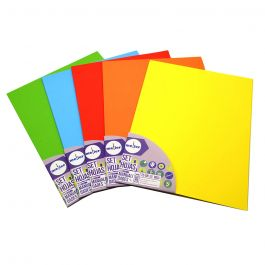 PAPEL CARTA MULTIPROPOSITO 25HJ 80GR COLOR ROJO