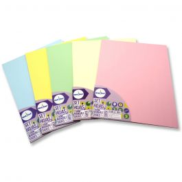 PAPEL CARTA MULTIPROPOSITO 25HJ 80GR COLOR AMARILLO PASTEL