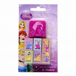 SET STAMP PRINCESAS DISNEY 6UN