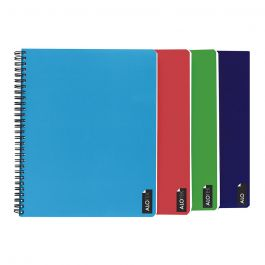 CUADERNO UNIVERSITARIO 7MM 100 HJ LISO T/E