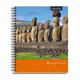 CUADERNO UNIVERSITARIO 7MM 100HJ PEOPLE&PLACE