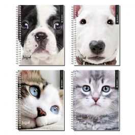 CUADERNO CARTA 7MM 150HJ PETS