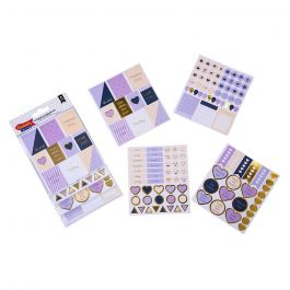 STICKERS SET 8HJ PLANNER MORADO