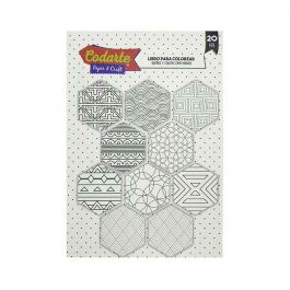 LIBRO COLOREAR MANDALAS GEOMETRIC POCKET