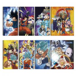 CUADERNO UNIVERSITARIO 7MM 100HJ DRAGON BALL