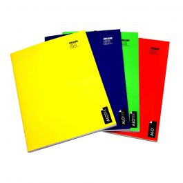 CUADERNO COLLEGE 5MM 80HJ LISO AMARILLO